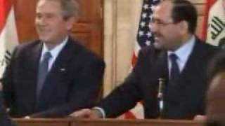 George Bush Shoe Attack!Bin Laden Barrack Obama
