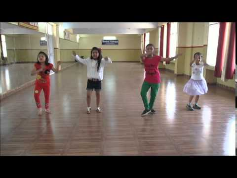 Learn Bhangra Dance Steps For Kids By Rockstar Academy Chandigarh India video