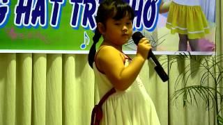 Hội thi Karaoke Tiếng Hát Trẻ Thơ 2014 Lá 3 bé Quỳnh Như hát Cô giáo em