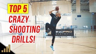 5 Crazy Basketball Drills to Shoot Better FAST!