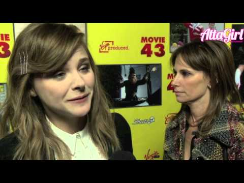 Chloe Grace Moretz talks Periods & Blood for Movie 43 Premiere