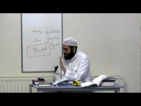 Ustadh Abdul Karim - Al-Arabiyyah Bayna Yadayk (Book 2) by Ustadh Abdul-Karim Lesson 57