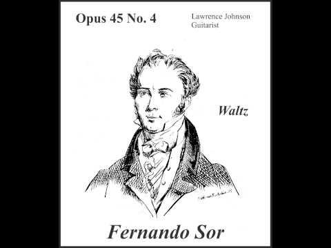 Fernando Sor - Waltz No 4 Opus 45