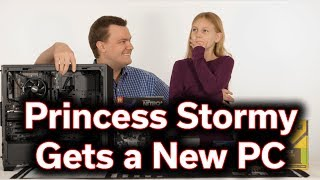 Princess Stormy gets a new PC - Ryzen 7 1700 & RX 580 - Sweet Upgrade!