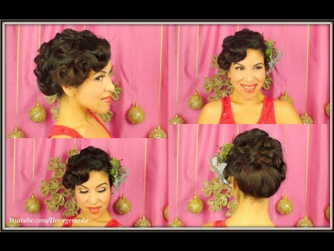 Christmas Formal Updo by I Love Gerardo (Iris)