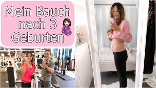Mein Bauch nach der Geburt | 1. Mal Sport nach Schwangerschaft | After Baby Body | Mamiseelen