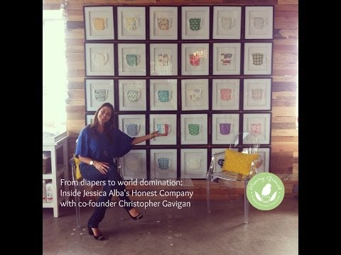 Inside Jessica Alba's Honest Company  with Co Founder Christopher Gavigan & Mommy Greenest Video