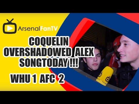 Coquelin Overshadowed Alex Song Today !!! - West Ham 1 Arsenal 2