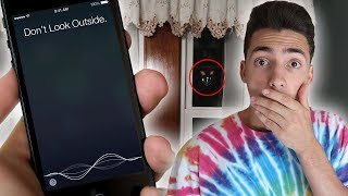 DO NOT TALK TO SIRI AT 3AM! 3 AM FIDGET SPINNER CHALLENGE GONE WRONG!!