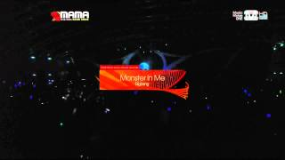 121130 Bigbang 2012 MAMA   Crayon + Fantastic Baby BB Cut DCTOP tp