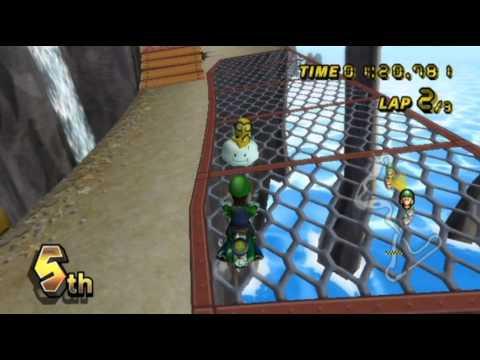 Mario Kart Wii - - Online Races 90: Luigi's Pizza Adventure