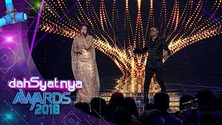 "DAHSYATNYA AWARDS 2018 | Via Vallen Feat Judika, ""Sayang"" [25 JANUARI 2018]"