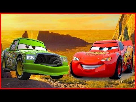 Мультики машинки. Тачки Молния МАКВИН и ЧИКО: ГОНКИ В ПУСТЫНЕ. Cars Toon McQueen.Мультик игра.Disney
