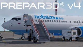 Prepar3D v4.2 | Vnukovo to Platov | UUWW-URRP | PMDG 737-800NGX WL | P3D