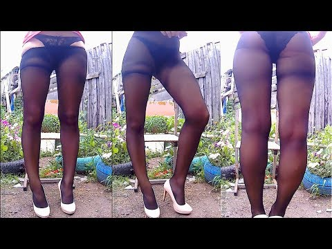 unsuccessful video about black tights(excerpt)