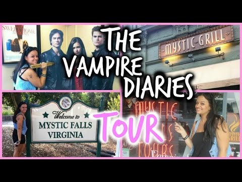 The Vampire Diaries Tour - Covington , GA July 15th 2014