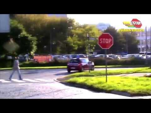 Nauka Jazdy Kat.B.- Znak STOP Ul.Wapienna/Kamienna. Szkoła Jazdy Auto Stop