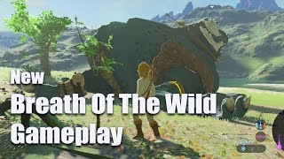 Breath Of The Wild Gameplay - 10 Minute Montage