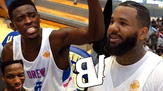 Drew League CURRENT MVP VS OLD MVP! Playoff BATTLE Goes To Final Seconds! #1 Team Self-Implodes
