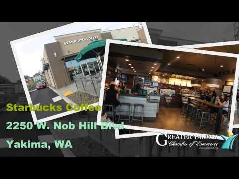 Yakima Chamber - Ribbon Cuttings - ActNow Automotive - Starbucks - Grocery Girls