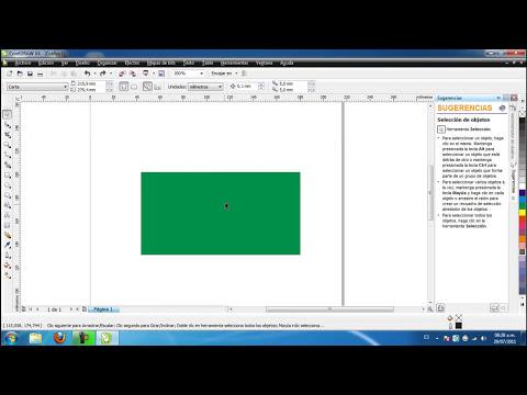 Tutorial No. 0 - CorelDraw X4 - Introduccion e interfaz grafica - JUCATEVE