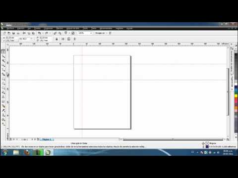 Tutorial No. 0 - CorelDraw X4 - Introduccion e interfaz grafica - JUCATEVE