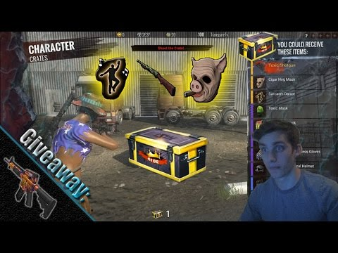 H1Z1 Legacy Crate Unboxing! (ULTRA RARE!)
