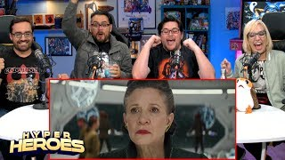 Star Wars: The Last Jedi Trailer (Official) Reaction