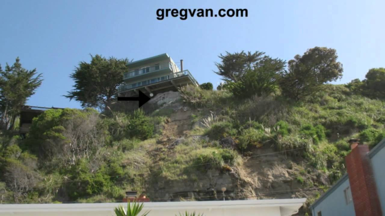 Build House On Steep Slope On Piers