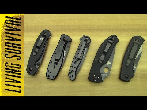 Top 5 Affordable EDC Knives of 2014