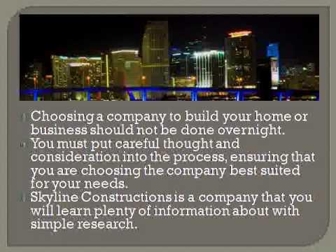 Skyline Constructions Buildings