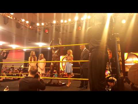 The Ultimate Warrior Statue Unveiling Wrestlemania Axxess 2015 San Jose, CA