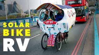 Solar Bicycle Camper - The Pedal-Powered Motorhome