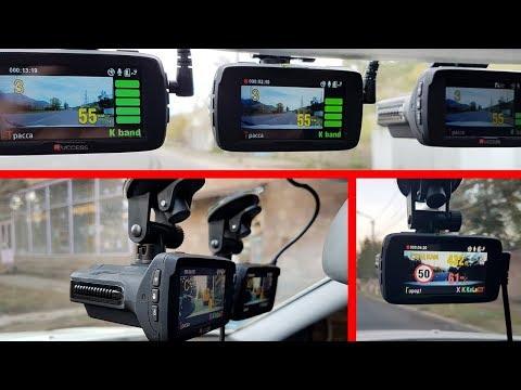 Очень Крутой Видеорегистратор с Антирадаром Ambarella A7LA50 Combo /GPS/1296p Speedcam Обзор и Тест