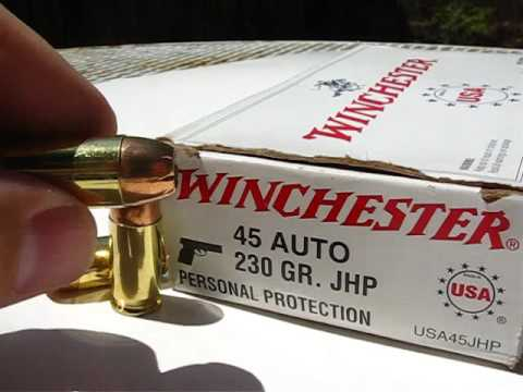AT1 - .45 ACP - Winchester White Box 230 Gr JHP