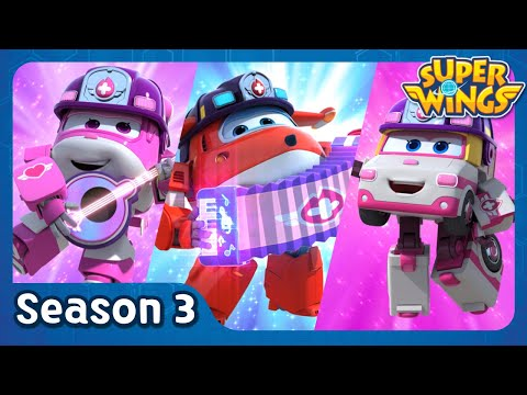 Marharet Island Menagerie | super wings season 3 | EP23