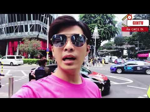GIN TUẤN KIỆT Mặc Áo Hồng Đi Lòng Vòng Khu Orchard Singapore | GINTV ĂN CHƠI ĐI | Gin Tuấn Kiệt
