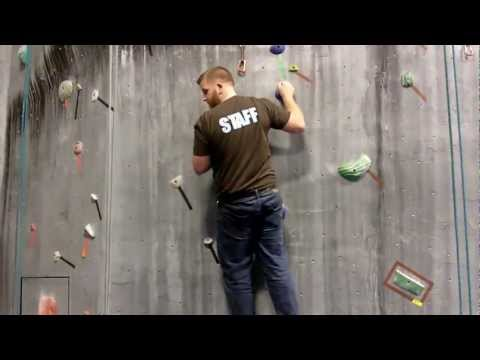 Rock Climbing Techniques - Climbing Tips Lesson 2 - Positioning & Flagging