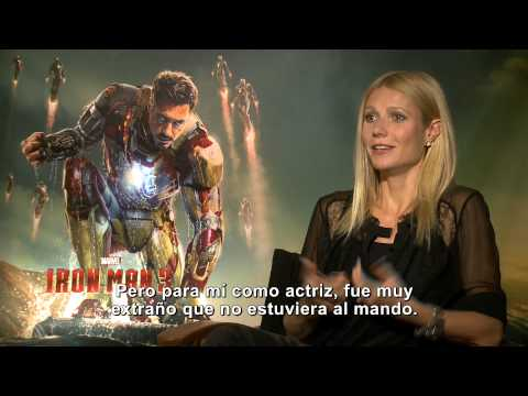 Iron Man 3: Entrevista con Gwyneth Paltrow -- Latinoamérica