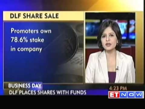 DLF 81 crore Shares On Offer at Floor Price of Rs 222 Share
