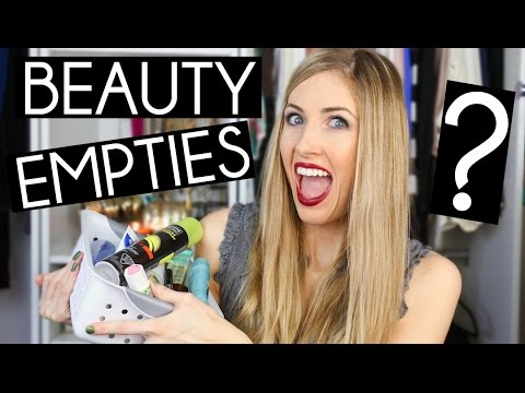 Beauty Products I've Used Up! (Would I Re-Purchase?!?)