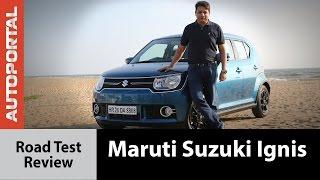 Maruti Suzuki Ignis Test Drive Review - Autoportal