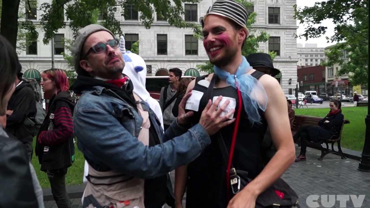 CLAC And Souris Prix Anti Grand Prix Protests In Montreal June 7-8 2013
