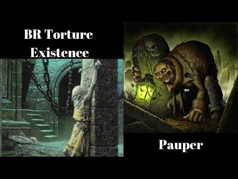 BR Tortured Existence Pauper SinCity MTG