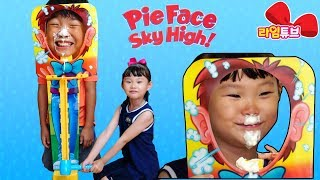 Pie Face sky high Challenge Toys Silly Funny Hand Roulette Board Game Игрушки