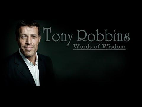 Words Of Wisdom: Tony Robbins' Compilation