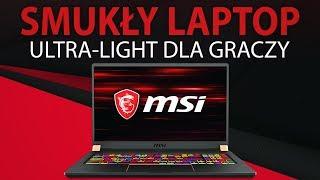 NAJsmuklejszy Laptop dla Gracza 💻 MSI GS75 Stealth