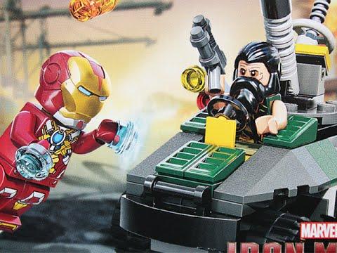 Let's Build - LEGO MARVEL SUPERHEROES IRON MAN vs. MANDARIN (Set 76008)