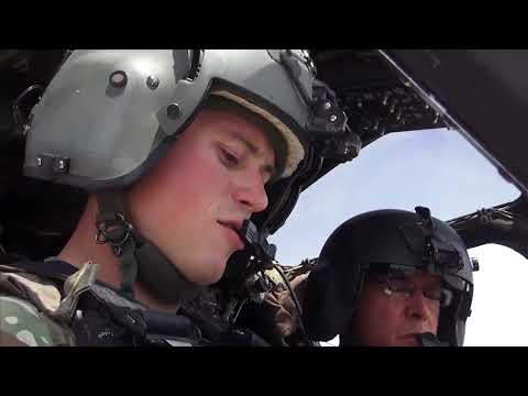 Kiowa Helicopters in Afghanistan -- 1st Air Cav, Tennessee National Guard