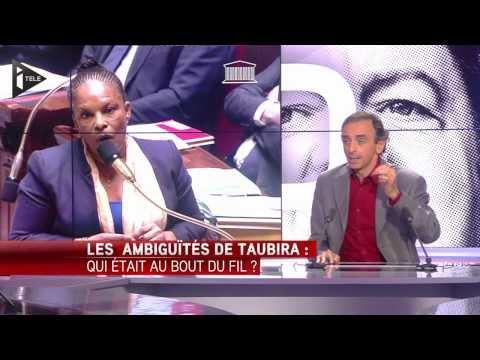 "Eric Zemmour : ""Christiane Taubira hait la France"" - Ça se Dispute"